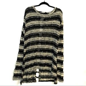 extra touch Sweaters - Extra touch knit hi/lo sweater- 2X